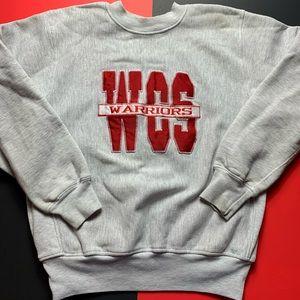 Vintage WCS Warriors Crewneck